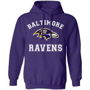 Baltimore Ravens Football NFL Team Pullover Hoodies Sweatshirt Hooded Gift Hot