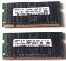 M470T5663QZ3-CF7 HP TouchSmart IQ500 4GB (2GBx2) RAM 2Rx8 PC2-6400S-666-12-E3