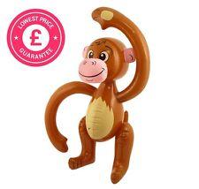 Inflatable Blow Up Monkey Chimp Tropical Fancy Dress Decoration Bag Filler Party