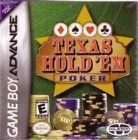 Texas Hold 'Em Poker - 2004 Casino & Cards - Nintendo Game Boy Advance GBA