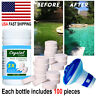 100Tablets Pool Cleaning Tablet or Floating Chemical Dispenser-US FAST SHIPPING