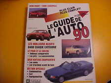 GUIDE AUTO JACQUES DUVAL 1990