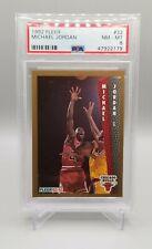 1992-93 Fleer Michael Jordan #32 PSA 8 NM-MINT Chicago Bulls HOF