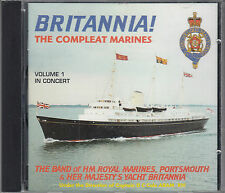 The Band of HM Royal Marines Britannia! The Compleat Marines Vol 1 CD FASTPOST