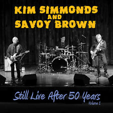 SAVOY BROWN New Sealed 2017 50th ANNIVERSARY LIVE 2014 SYRACUSE CONCERT CD