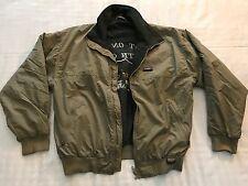 Mens Beige White Sierra Mt. McKinley Outdoors Jacket (Size M) (NC6)
