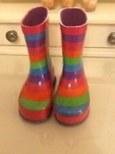 Girls Wellington Boots **Excellent Condition** Size 4