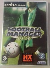 FOOTBALL MANAGER CAMPIONATO 2007 PC NEW SIGILLATO PAL 4 5 ITA TIPO SCUDETTO