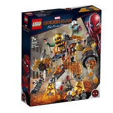 76128 LEGO MARVEL Super Heroes Molten Man Battle Spider-Man Far From Home 294pcs