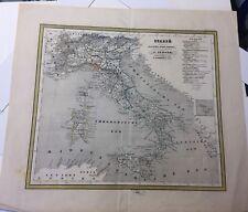 Antique Map Of Italy by J. Jaeger J. Van Wijk Roelandsz