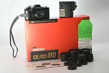 【Excellent+++】ASAHI PENTAX auto 110 SLR Camera Measure kit+Lens  from Japan ♯2