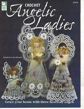 Angelic Ladies House of White Birches Angels to Crochet 101078 Thread Crochet