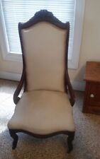 Antique Slipper Chair, 1800's, Super Cute