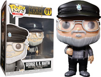 Exclusive George R.R. Martin Game of Thrones FUNKO Pop Vinyl New in Box In Hand