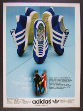 1976 Adidas DRAGON Sneakers Shoes vintage print Ad