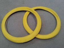 2 NEW DURO BMX BICYCLE TIRES 20X1.95 (47-406)  YELLOW