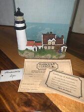 Highland Cape Cod Light Massachusetts 161 Harbour Lights 1995 Lighthouse Coa Nb