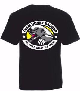 Honey Badger T-Shirt or Gym Vest Hunting Season Target Practise