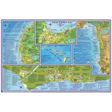 Franko Maps Hawaii Maui Adventure Guide 14 X 21 Inch