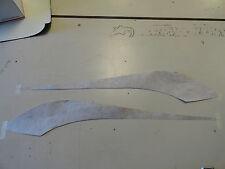 "LARSON GLASTRON SET 2 GRAPHIC VENT DECALS 136246-01  (34 3/4"" X 5 1/2"") BOAT"