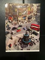 PICCADILLY CIRCUS - LARGE FORMAT - JOHN HINDE - POSTCARD - UNUSED & EXCELLENT