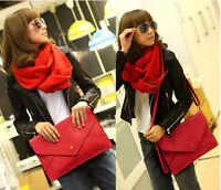 Lady Women Envelope Clutch Chain Rosy Purse HandBag Shoulder Hand Tote Bag