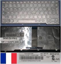 Clavier Azerty Fr LENOVO IdeaPad S206 S110  0KN0-ZS1FR12 MP-11G26F0-686 Noir
