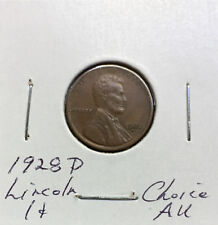 1928 D Lincoln Cent ~ *Choice AU* ~ Better Date ~ Boldly Detailed Original Coin