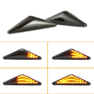 2x Dynamic LED Turn Side Signal Light Indicators For Ford Mondeo Ford Focus MK1