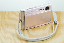 Sony Cyber-shot DSC-T70 Digital Camera - 8.1MP, 3x Zoom, Touchscreen, Card, Pink