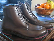 Society Brown leather Split toe Ankle Indy Tanker Boot UK 7 EU 41