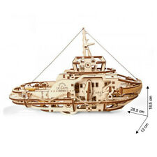 Ugears - Holz Modellbau Tugboat Schlepper Schiff 169 Teile