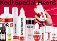 Kodi - Nail fresher, Cleanser, Primer, Ultrabond, Cuticle oil, Remover, Base Top