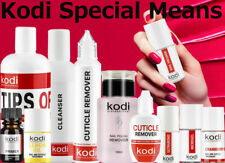 Kodi - Nail fresher, Cleanser, Primer, Ultrabond, Cuticle oil, Remover, Base Top