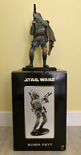 More details for star wars boba fett attakus # 460 limited edition collectible statue 2003 read!!