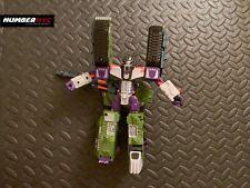 Hasbro Transformers Takara Armada 2001 Megatron Tank Action Figure Talks Lights