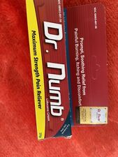Dr Numb 5% Cream 30 gr Skin Numbing for Body Ink, Waxing Piercing New Exp: 12/23