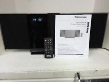 Panasonic SC-HC38 Micro Stereo w/BLUETOOTH/CD/RADIO/IPHONE DOCK/IPOD USB PORT