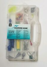 Hurricane saltwater fishing tackle box and lures 125 pieces saltwater assortment