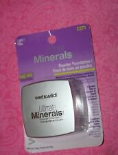 WET N WILD ULTIMATE MINERALS POWDER FOUNDATION #271 LIGHT/PALE NEW & SEALED