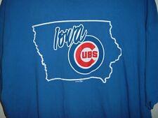 Minor League Iowa Cubs Baseball Adult 2XL T-Shirt