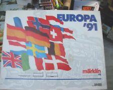 MÄRKLIN HO – Coffret spécial « EUROPA'91 »