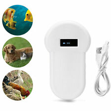 1Pcs RFID Reader ISO FDX-B Animal Chip Dog Pet Microchip Scanner 134.2kHz