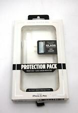 Case-Mate Iphone Xs Max Protection Clear Case Screen Protection Pack Glass