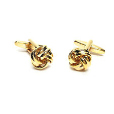 Gold  Knot Classic Mens Gift For him Cufflinks Executive Gift For Him