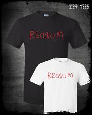Redrum The Shining Shirt Vintage Horror Movie Scary Murder Jack Nicholson Retro