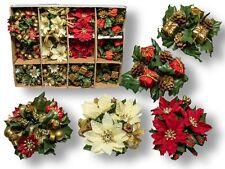 Kerzenringe -  Display Weihnachten - 24 tlg. in 4 verschiedenen Designs