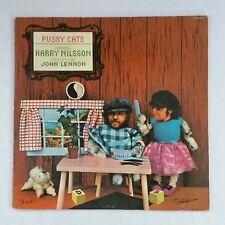 HARRY NILSSON & JOHN LENNON Pussy Cats CPL10570 LP Vinyl VG+ near ++ GF
