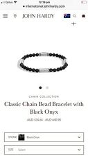 John Hardy Men Bracelet Silver And Onyx
