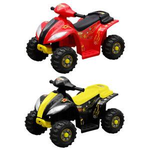Kinder Elektro Quad Elektromotorrad Kinderquad Kindermotorrad Auto Rot/Gelb Akku